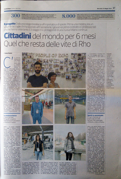 Elce on Corriere